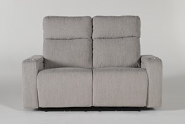 """Isabel 61"""" Power Reclining Loveseat With Power Headrest"""