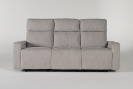 """Isabel 84"""" Power Reclining Sofa With Power Headrest"""