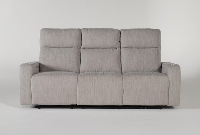 "Isabel 84"" Power Reclining Sofa With Power Headrest - 360"