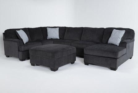 Living Room Sets With Ottoman, Sectional Living Room Furniture Sets
