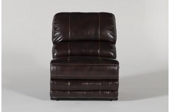 Howell Leather Power Armless Recliner