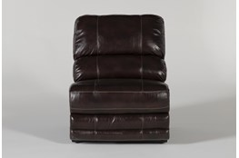 Howell Leather Armless Chair