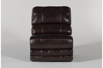 Howell Leather Armless Chair