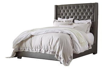 Thurston Queen Upholstered Panel Bed