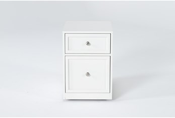Shia Rolling Filing Cabinet With 2 Drawers