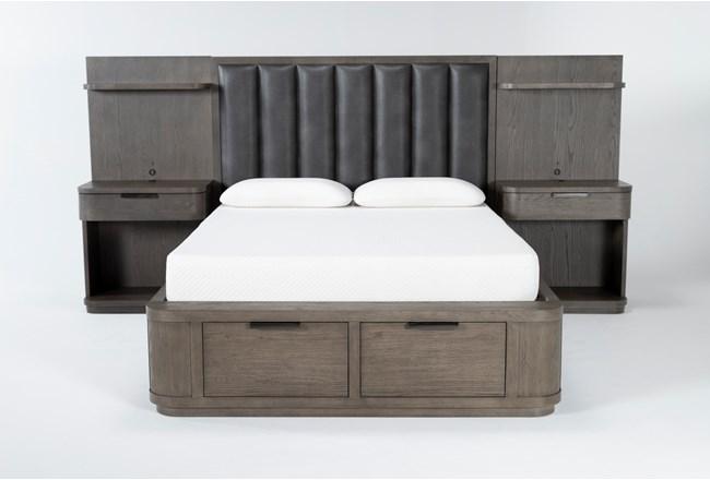 Sean Eastern King Low Pier Wall Bed - 360