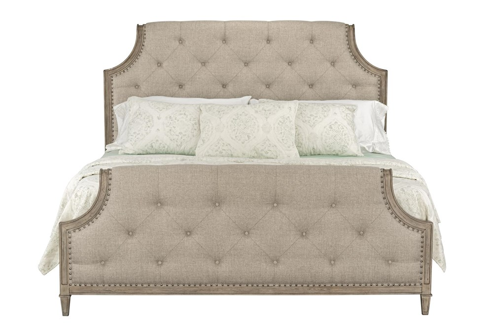 Edith Queen Upholstered Panel Bed