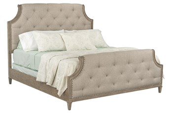 Edith Eastern King Upholstered Panel Bed