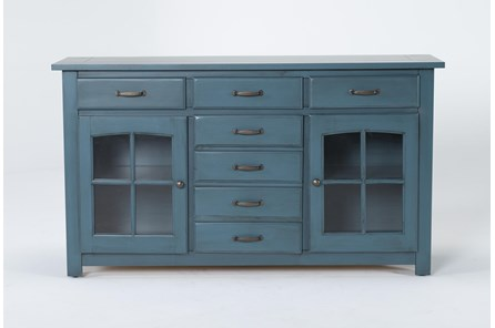 Jamestown Blue 62 Inch Cabinet - Main