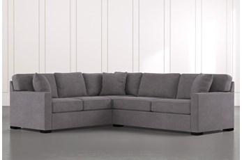 "Alder Foam 2 Piece 108"" Sectional With Right Arm Facing Condo Sofa"
