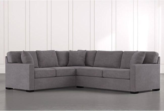 "Alder Foam 2 Piece 108"" Sectional With Right Arm Facing Condo Sofa - 360"