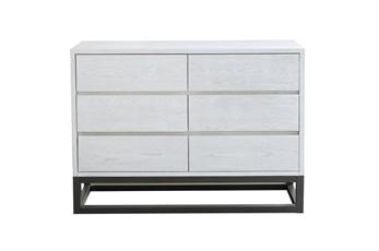 Modern Industrial Dresser-White