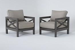 Saint Croix Outdoor 2 Piece Chair Set