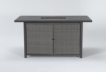 Koro Outdoor Firepit Counter Table