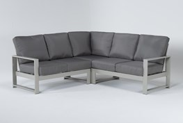 """Zane 82"""" Outdoor Sectional"""
