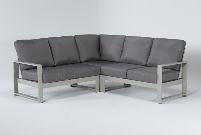 """Zane 82"""" Outdoor Sectional - 360"""