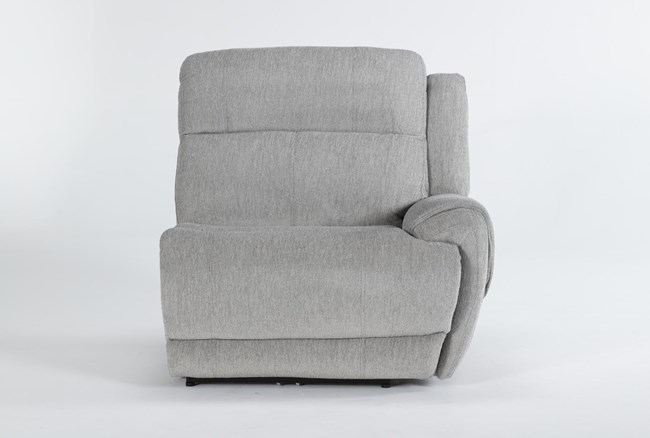Terence Pebble Power Right Arm Facing Recliner - 360
