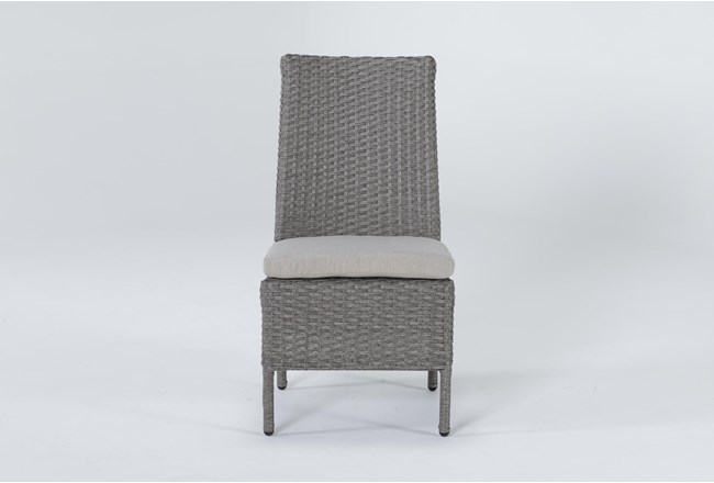 Mojave Outdoor Woven Dining Chair - 360