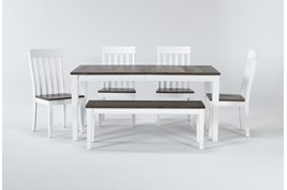 Chelan 6 Piece Extension Dining Set