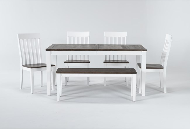 Chelan 6 Piece Extension Dining Set - 360