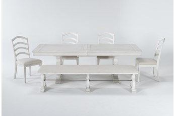 Martin 6 Piece Dining Set With Wood Side Chairs