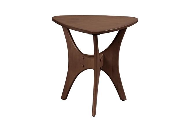 INK+IVY Blaze Triangle Wood Side Table - 360