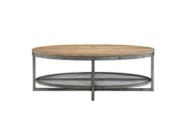 Huxley Natural Oval Coffee Table