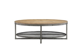 INK+IVY Sheridan Oval Coffee Table