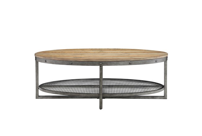 INK+IVY Sheridan Oval Coffee Table - 360