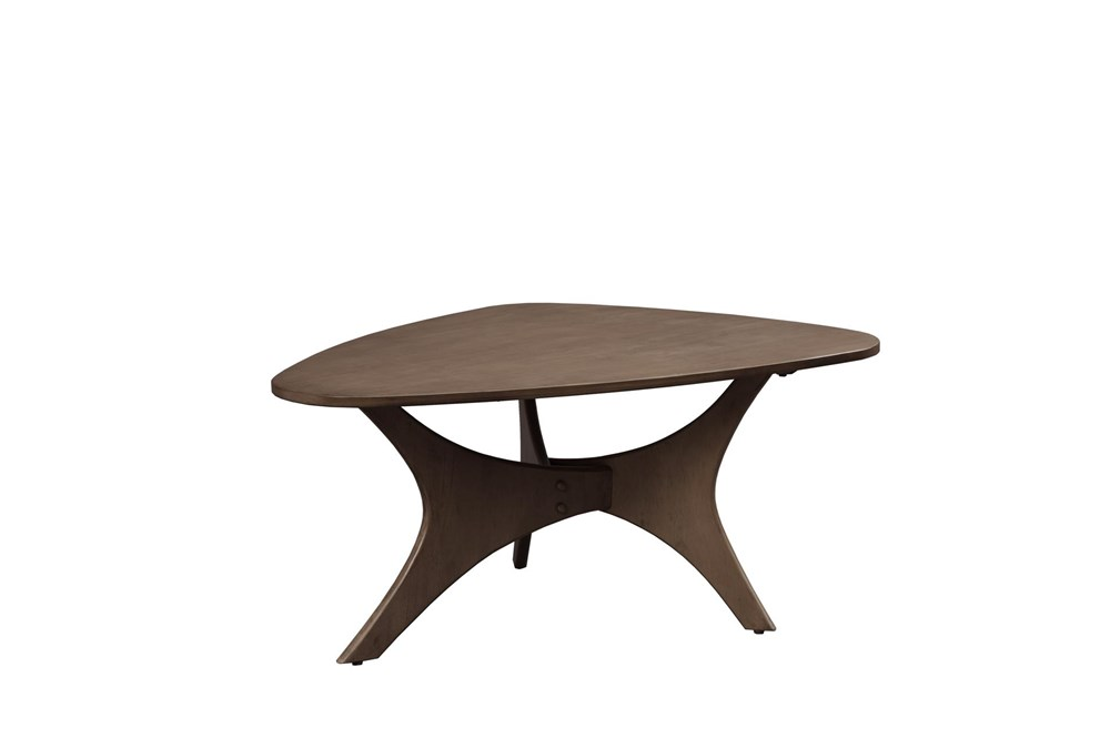 INK+IVY Blaze Triangle Wood Coffee table