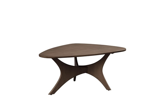 INK+IVY Blaze Triangle Wood Coffee table - 360