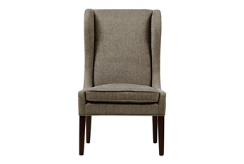 Edward Grey Wingback Dining Chair