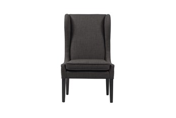 Edward Charcoal Wingback Dining Chair