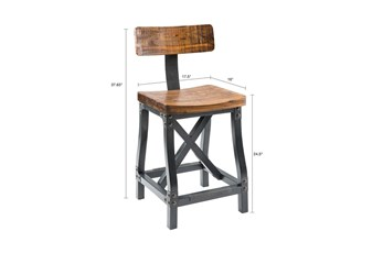 Ink+Ivy Lancaster 26 Inch Counter Stool