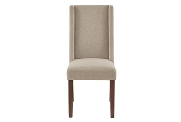 Elijah Taupe Dining Side Chair Set of 2