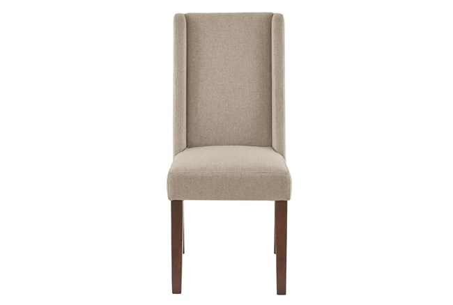 Elijah Taupe Dining Side Chair Set of 2 - 360