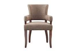 Lincoln Brown Dining Arm Chair
