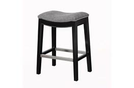 Madison Park Westly Saddle Grey 27 Inch Counter Stool