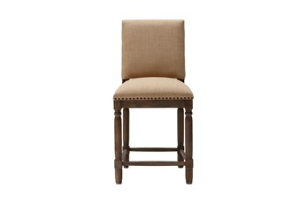 Madison Park Wells Sand 25 Inch Counter Stool