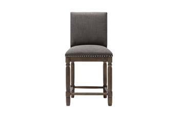 "Madison Park Wells Grey 25"" Counter Stool"
