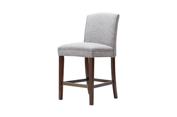 Madison Park Amory Grey 26 Inch Counter Stool