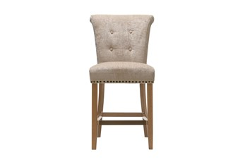 Madison Park Lorsted Cream 26 Inch Counter Stool