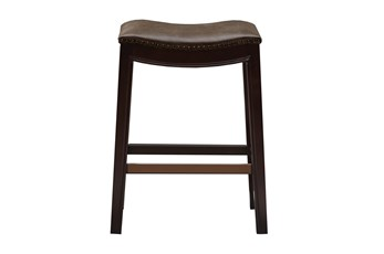"Madison Park Westly Saddle Mushroom 27"" Counter Stool"