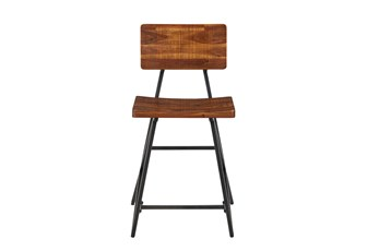 "Ink+Ivy Trestle 24"" Counter Stool"