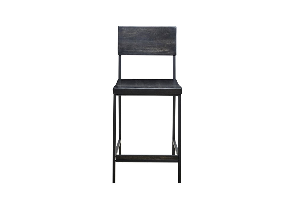 Ink+Ivy Tacoma Black 24 Inch Counter Stool