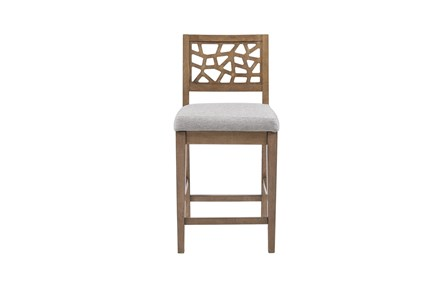 Ink+Ivy Crackle 31 Inch Bar Stool - Main