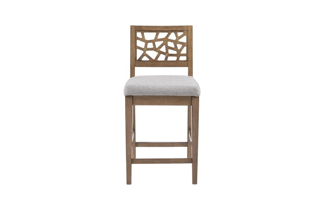 Ink+Ivy Crackle 31 Inch Bar Stool - 360