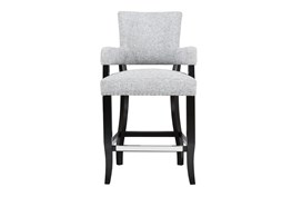 """Lincoln Grey 26"""" Counter Stool"""