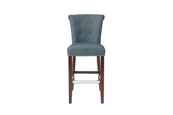 Madison Park Lorsted Blue 30 Inch Bar Stool