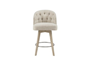 "Madison Park Grattan Swivel 26"" Counter Stool"